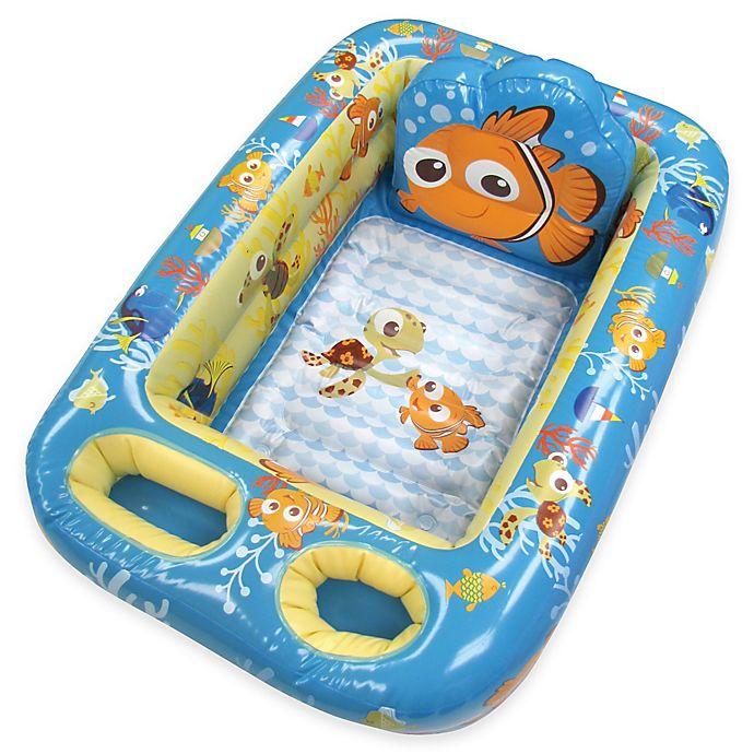 Alternate image 1 for Disney® Nemo Inflatable Bath Tub