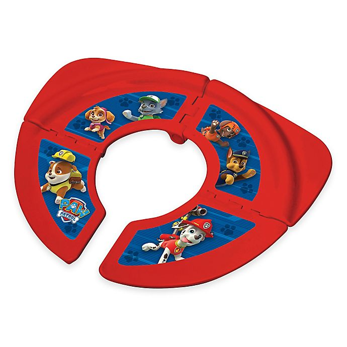 Alternate image 1 for Nickelodeon™ PAW Patrol Folding Travel Potty in Red