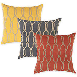 Surya Asino Geometric Throw Pillow