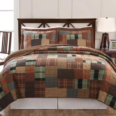 Jewel Tone Plaid Reversible Quilt Set Bed Bath Amp Beyond