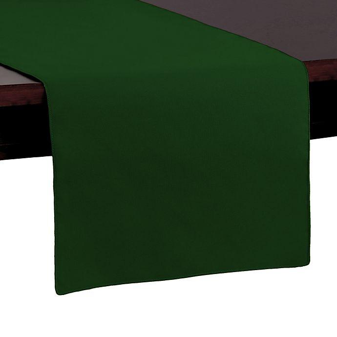 Alternate image 1 for Basic Polyester 54-Inch Table Runner in Moss