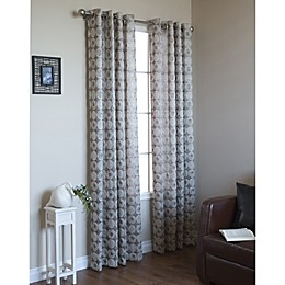 Mayan Grommet Window Curtain Panel