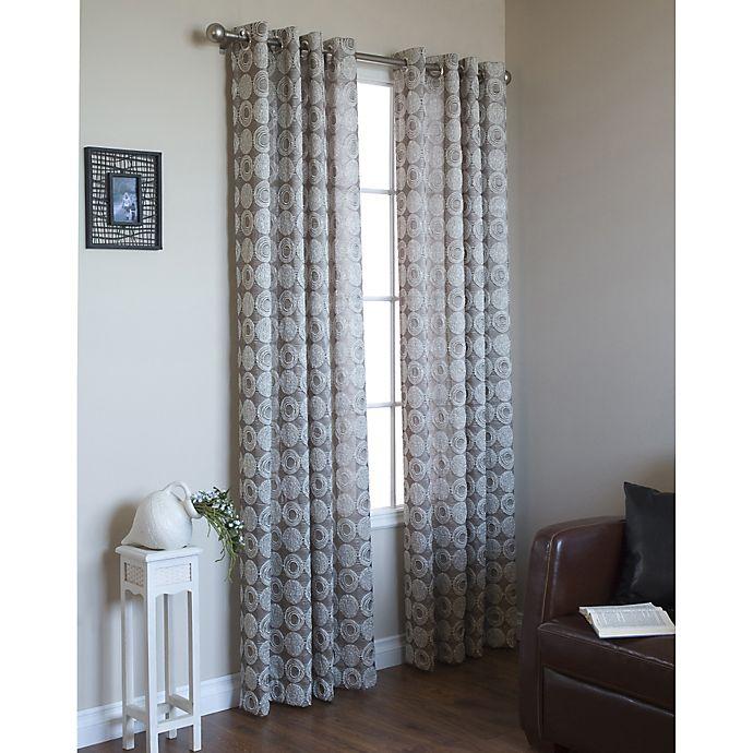 Alternate image 1 for Mayan Grommet Window Curtain Panel (Single)