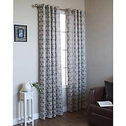 Mayan Grommet Window Curtain Panel (Single)