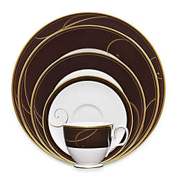 Noritake® Golden Wave Chocolate Dinnerware Collection
