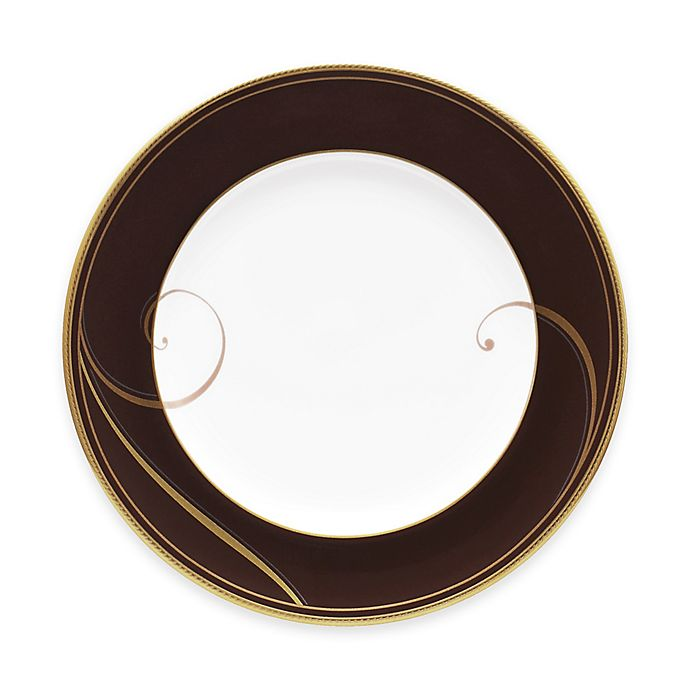 Alternate image 1 for Noritake® Golden Wave Chocolate Bread and Butter Plate