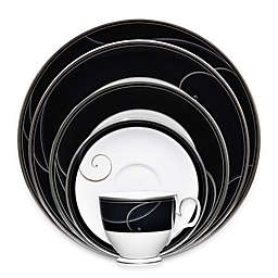 Noritake® Platinum Wave Ebony Dinnerware Collection