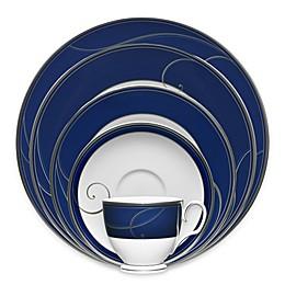 Noritake® Platinum Wave Indigo Dinnerware Collection