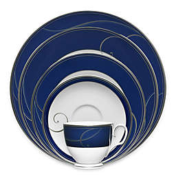 Noritake® Platinum Wave Indigo Dinnerware Collection