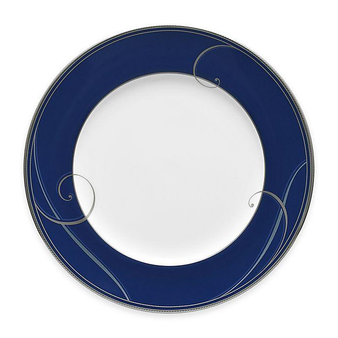 Noritake 174 Platinum Wave Indigo Salad Plate Bed Bath Amp Beyond