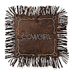 HiEnd Accents Calhoun Cowgirl Studded Pillow