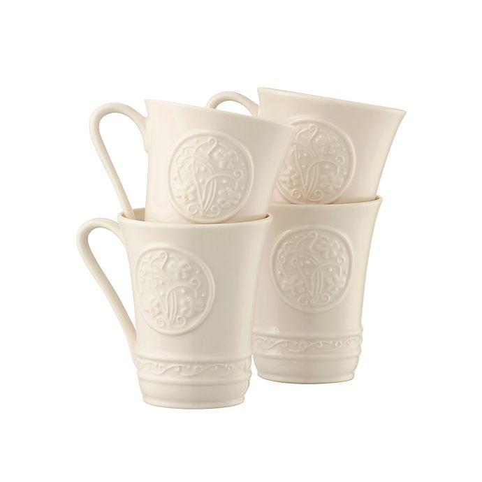 Alternate image 1 for Belleek Irish Craft Mugs (Set of 4)