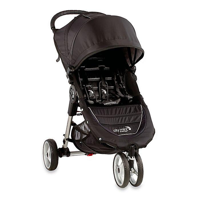 Baby Jogger City Mini 3 Wheel Single Stroller In Black Grey