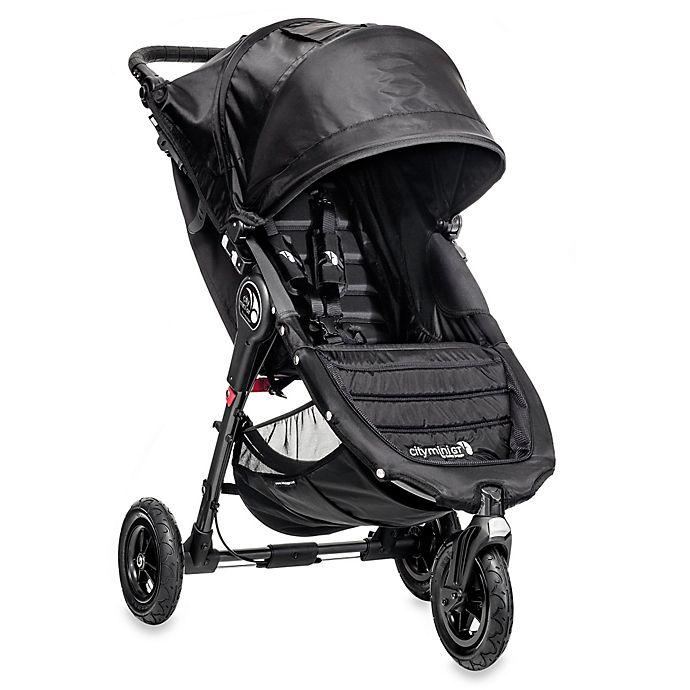 Alternate image 1 for Baby Jogger® City Mini® GT Single Stroller in Black/Black
