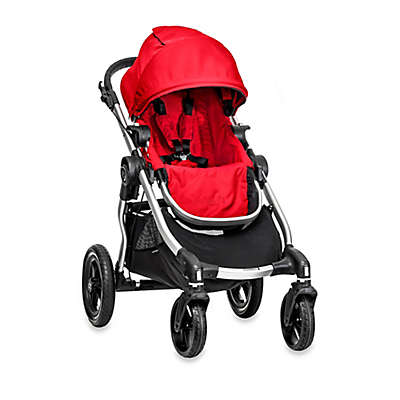 Baby Jogger® city select® Single Stroller in Ruby/Silver