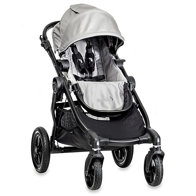 Alternate image 1 for Baby Jogger® city select® Single Stroller in Silver/Black