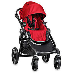 Baby Jogger® city select® Single Stroller in Red/Black