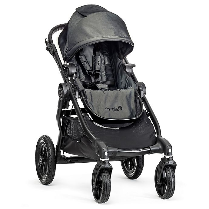 Alternate image 1 for Baby Jogger® City Select Single Stroller in Charcoal/Black