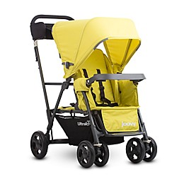 Joovy® Caboose Ultralight Graphite Stand-On Tandem Stroller in Citron