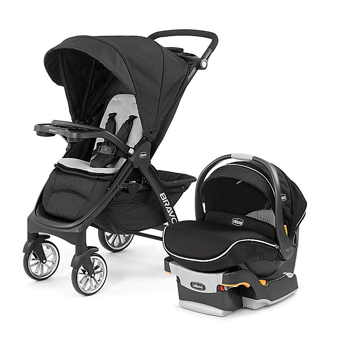 Alternate image 1 for Chicco® Bravo® LE Trio Travel System in Genesis