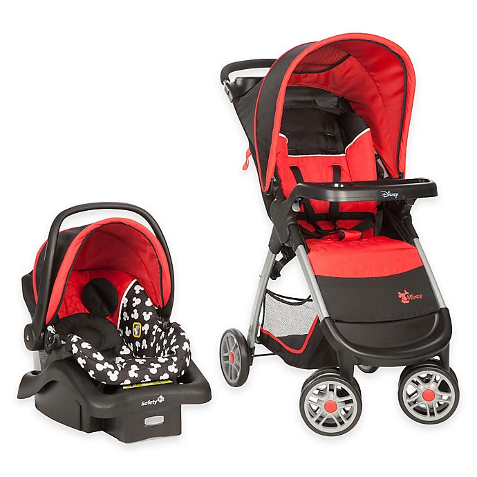 Alternate image 1 for Safety 1st Disney® Amble Travel System in Mickey Silhouette