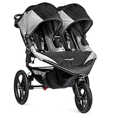 Baby Jogger® Summit™ X3 Double Stroller in Black/Grey