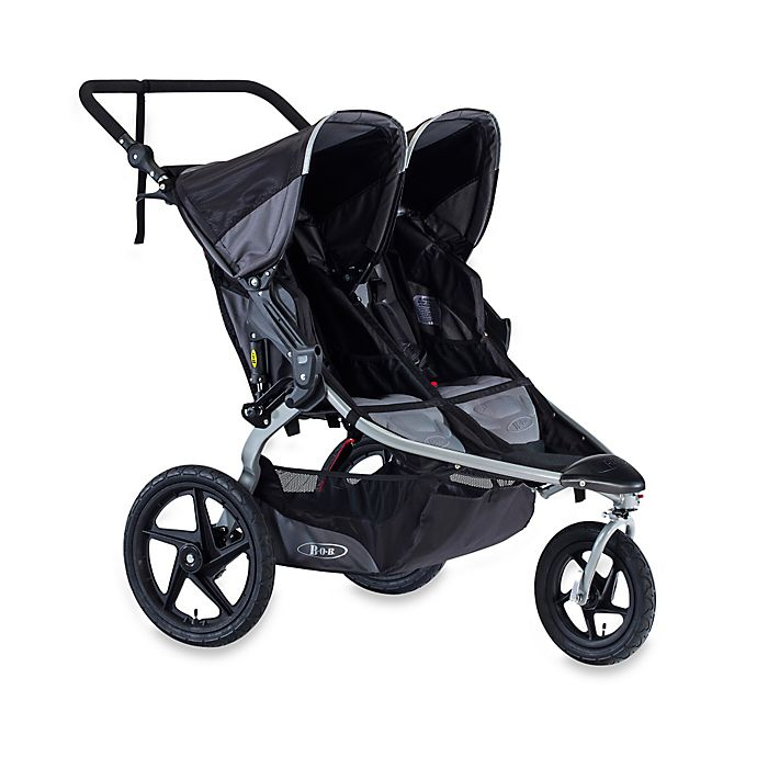 Alternate image 1 for BOB® Revolution® FLEX Duallie® Jogging Stroller in Black