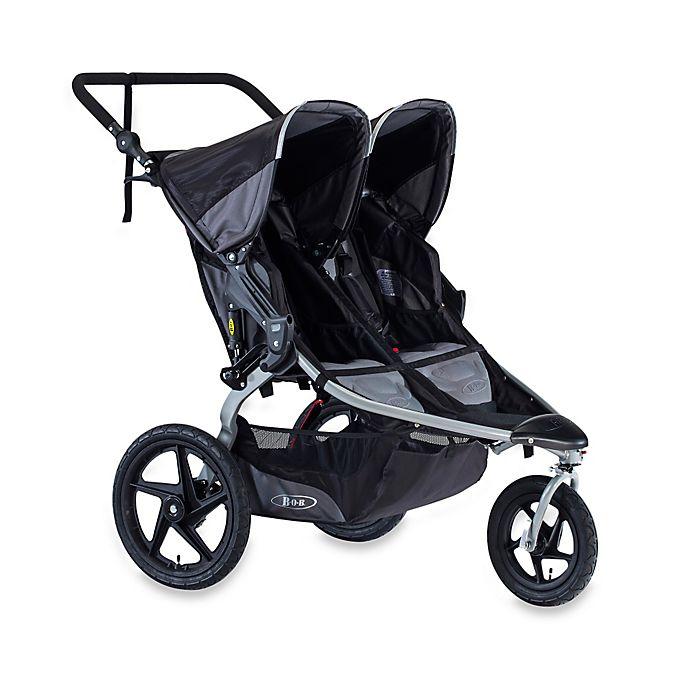 Alternate image 1 for BOB® Revolution® FLEX Duallie® Jogging Stroller in Black