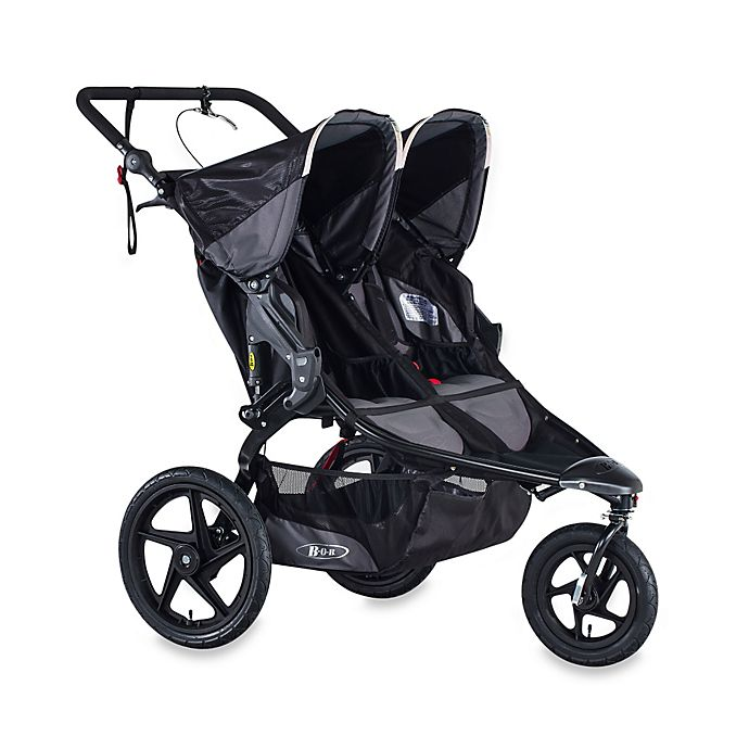 Alternate image 1 for BOB® Revolution® PRO Duallie® Stroller in Black