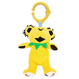 Daphyls™ Grateful Dead Dancing Bear Plush in Yellow