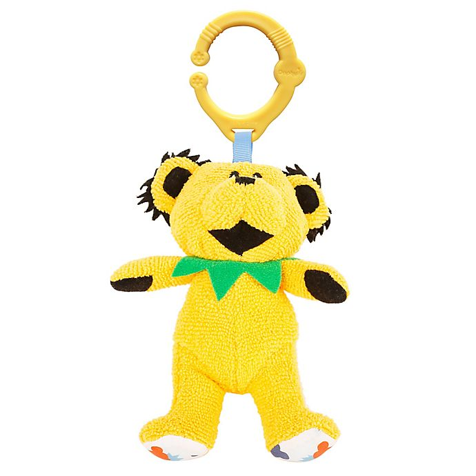 Alternate image 1 for Daphyls™ Grateful Dead Dancing Bear Plush in Yellow