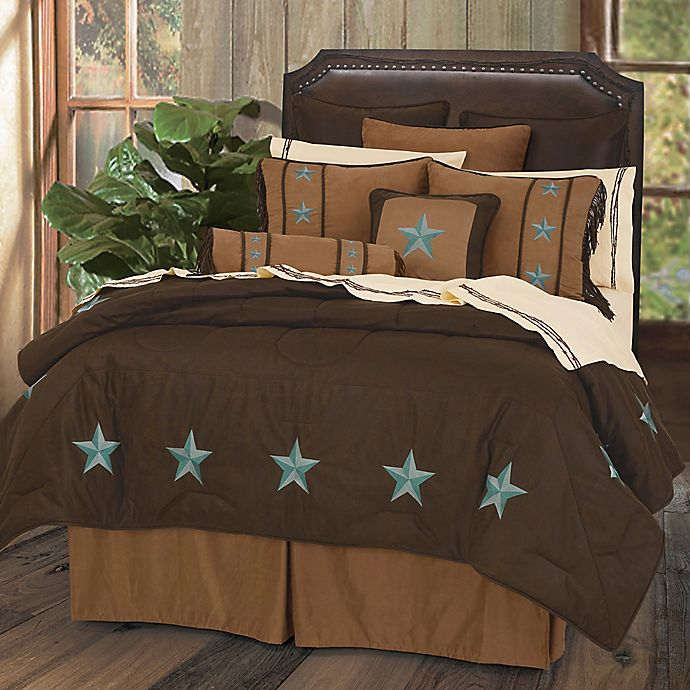 Alternate image 1 for HiEnd Accents Laredo King Comforter Set with Bed Skirt