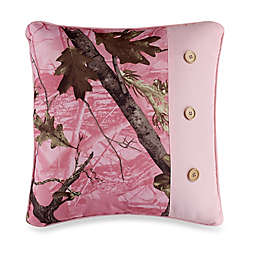 HiEnd Accents Oak Camo Accent Pillow in Pink