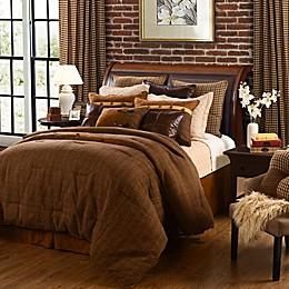 HiEnd Accents Crestwood Comforter Set in Brown
