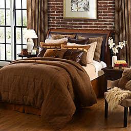 HiEnd Accents Crestwood Bedding Set in Brown