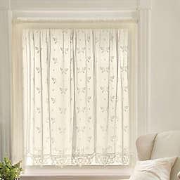 Heritage Lace® Heirloom Rod Pocket Sheer Window Curtain Panel