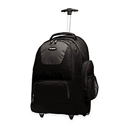 Samsonite® 21-Inch Wheeled Backpack in Black/Charcoal