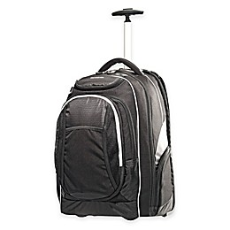 Samsonite® Tectonic 21-Inch Rolling Backpack in Black