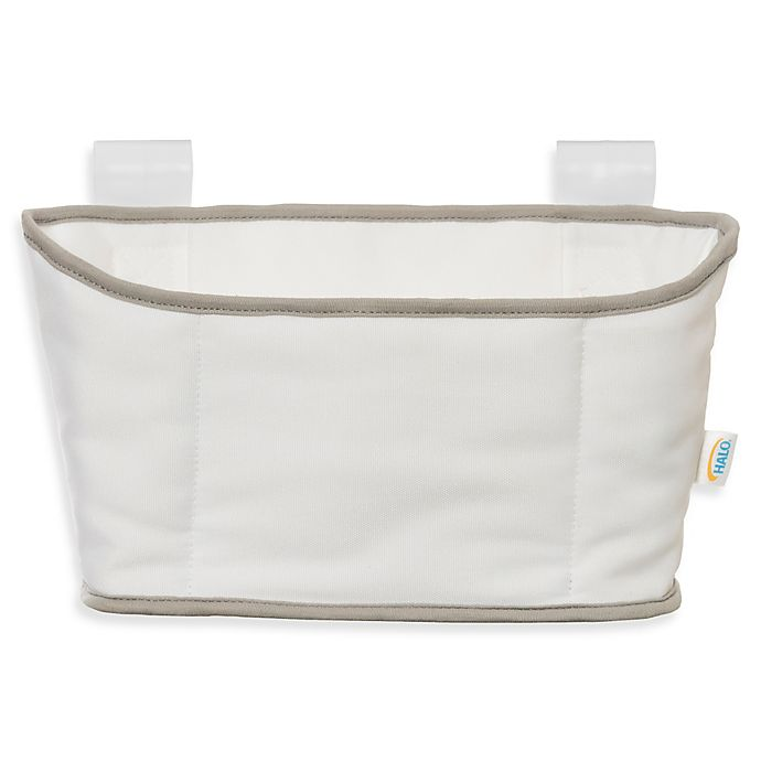 Alternate image 1 for HALO® Bassinest® Swivel Sleeper Diaper Caddy in White