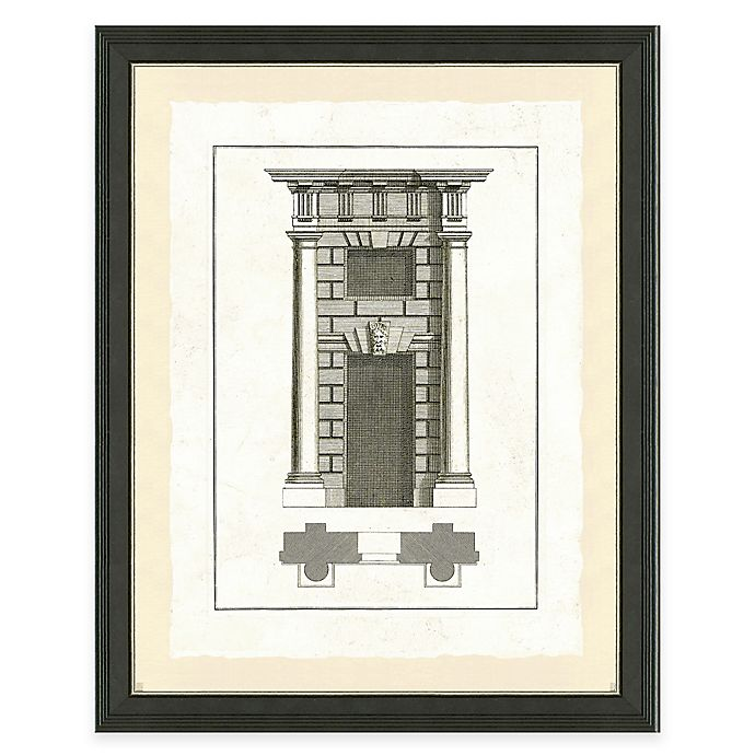 Alternate image 1 for Door Architecture II Framed Art Print