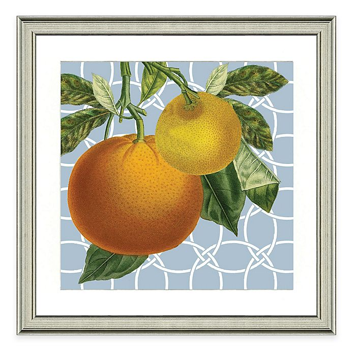 Alternate image 1 for Framed Giclée Geometric Orange I Print Wall Art