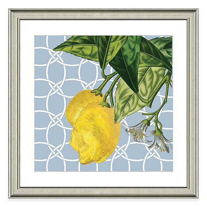 Alternate image 1 for Framed Giclée Geometric Lemon I Print Wall Art