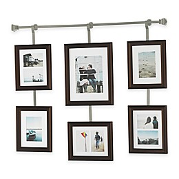 Wall Solutions 10-Piece Rod and Frame Set in Pewter