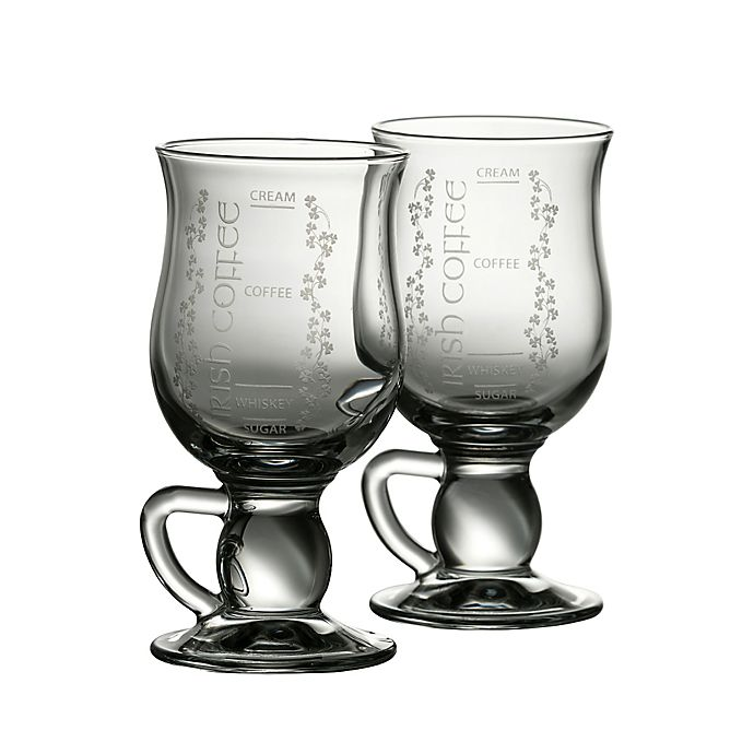 f3e189b094a Belleek Galway Crystal Irish Coffee Glasses (Set of 2) | Bed Bath ...