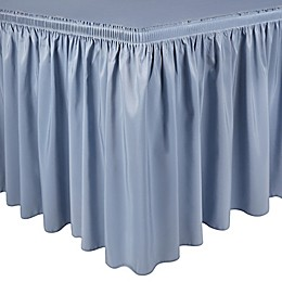 Shirred Polyester Table Skirt
