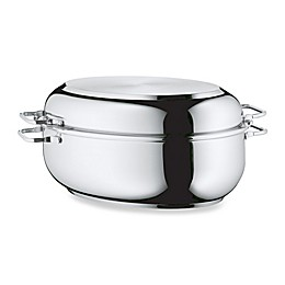 WMF 11.75-Inch x 8.25-Inch Stainless Steel Extra Deep Covered  Roaster