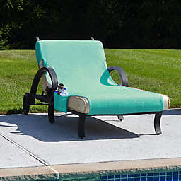 Linum Home Textiles Chaise Lounge Cover with Accessory Pockets