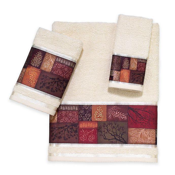 Alternate image 1 for Adirondack Pine Hand Towel