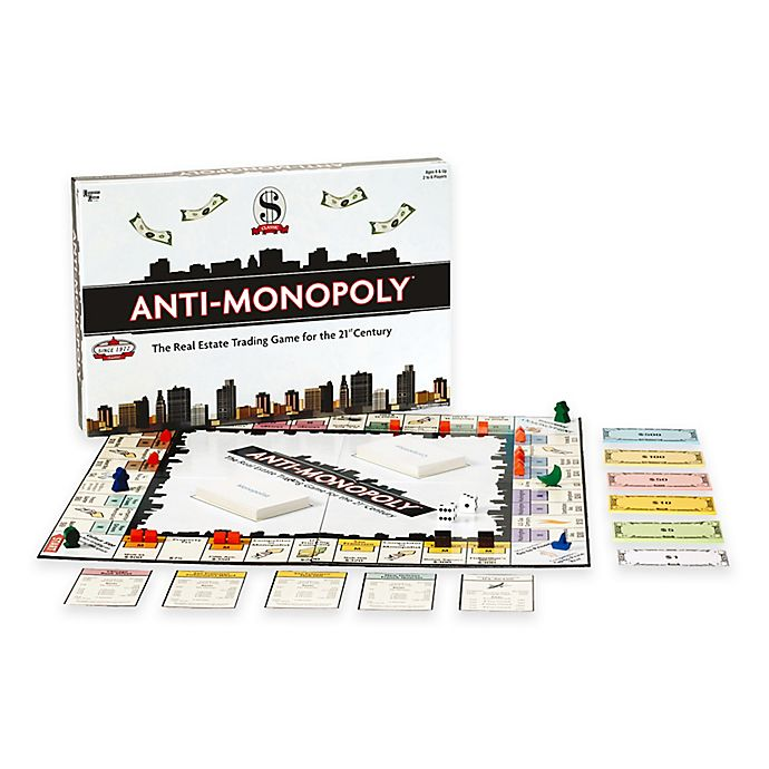 Alternate image 1 for Anti-Monopoly Game