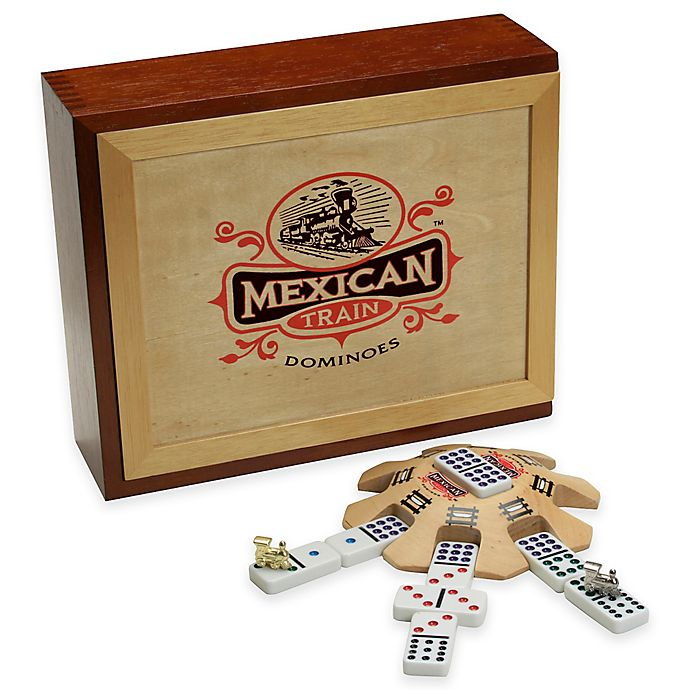 Alternate image 1 for Mexican Train Dominoes